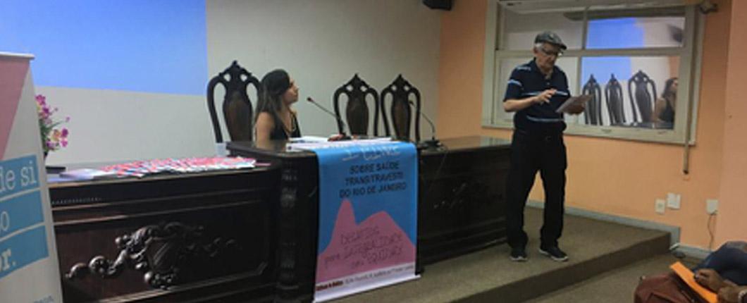 1ª Conferência livre sobre saúde travesti/trans rio de janeiro –