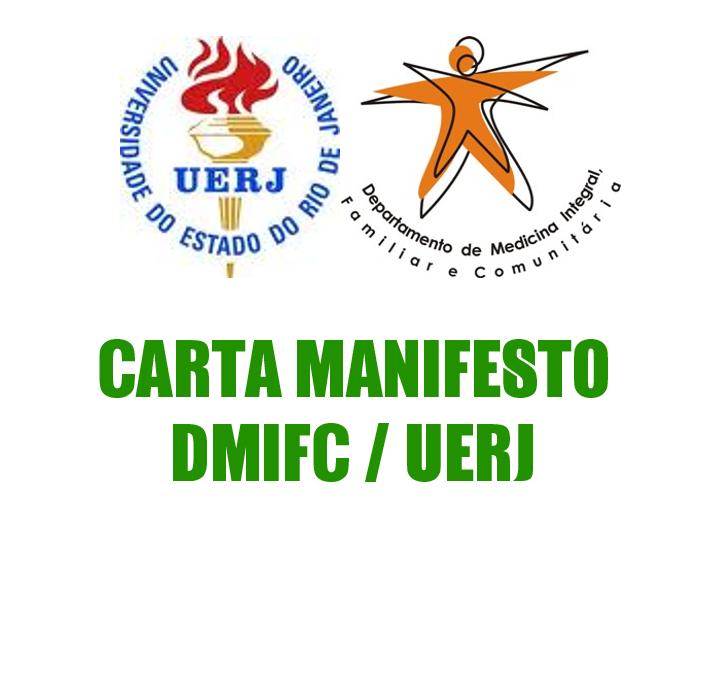 CARTA MANIFESTO DMIFC / UERJ