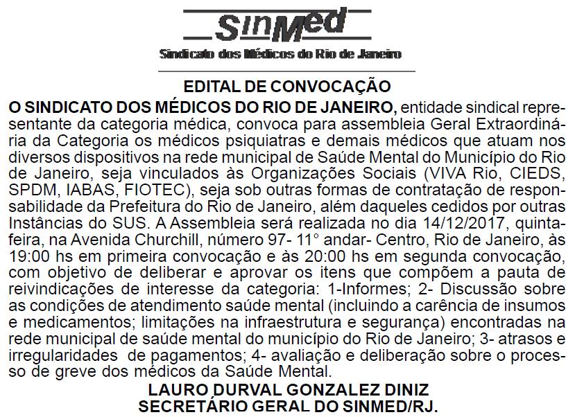 Assembleia dos Médicos Psiquiatras das OS's – 14/12/2017⠀⠀⠀⠀⠀⠀⠀⠀⠀⠀⠀⠀⠀⠀⠀⠀⠀⠀⠀⠀⠀⠀⠀⠀⠀⠀⠀⠀⠀⠀⠀⠀⠀⠀⠀⠀⠀⠀⠀