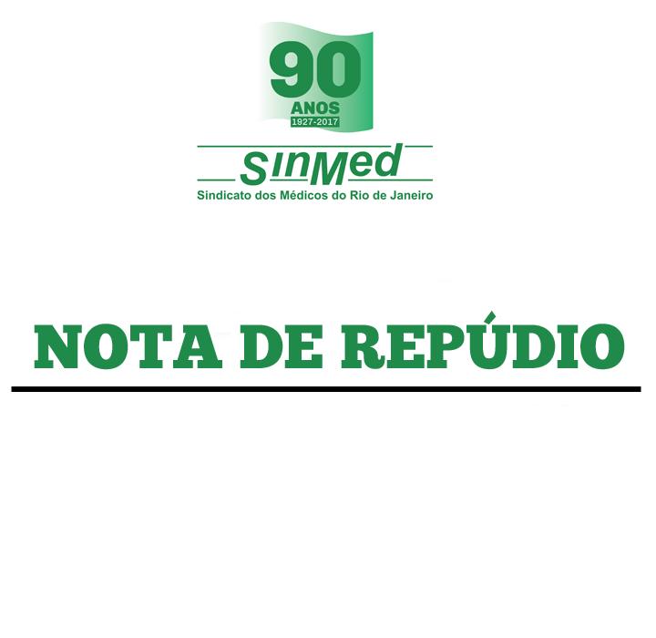 Nota de Repúdio às declarações do Prefeito Marcelo Crivella