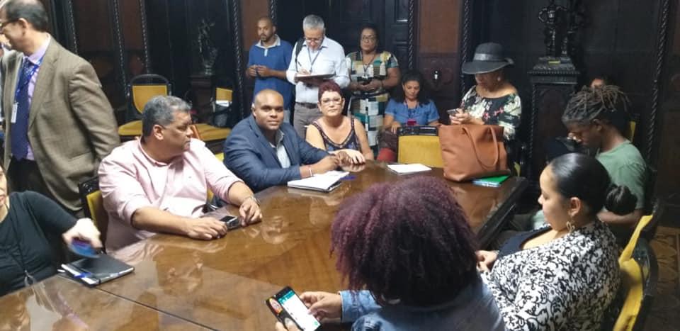 Reunião dos sindicatos da área da Saúde