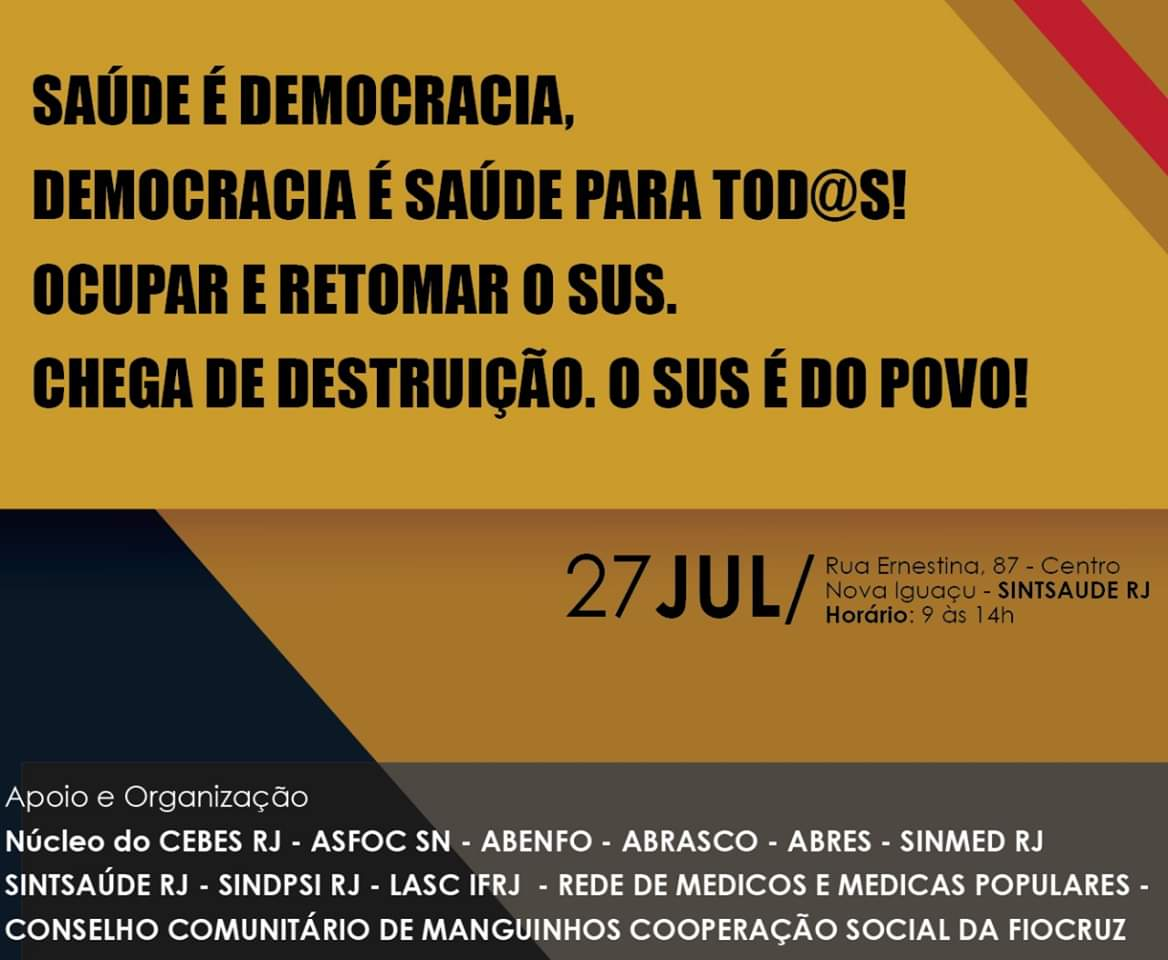 O SUS E A DEMOCRACIA
