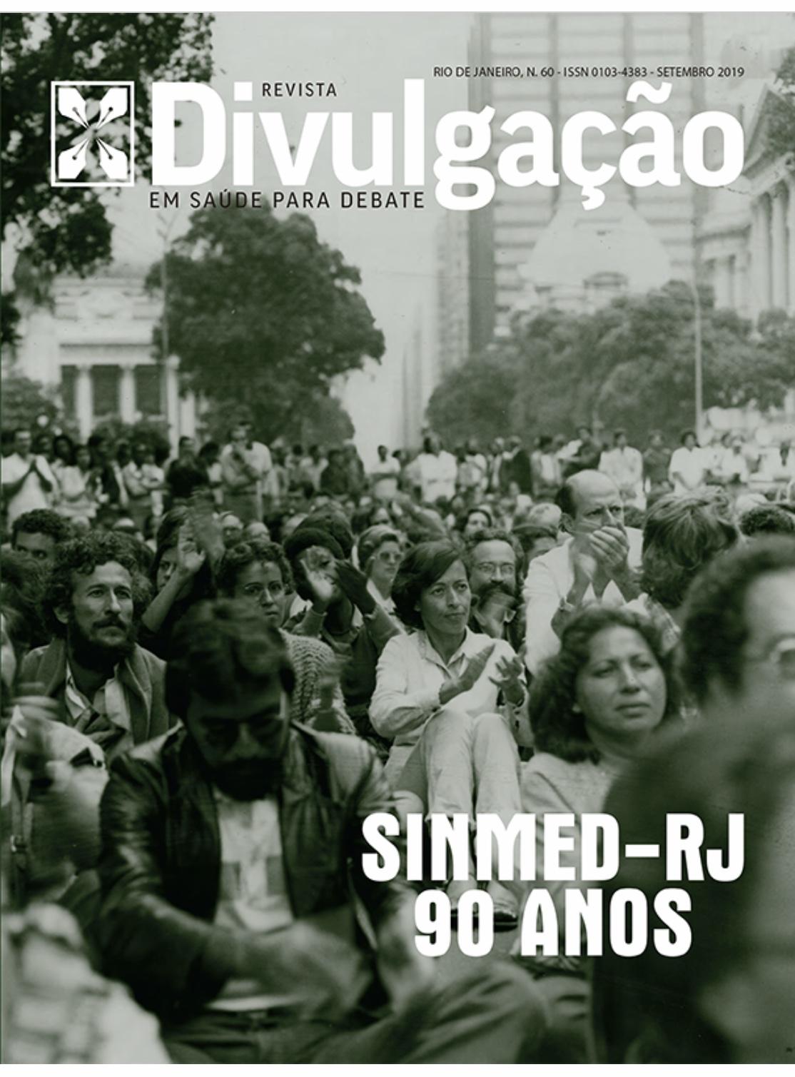 SinMed/RJ e Cebes lançam revista em comemoração às nove décadas do sindicato