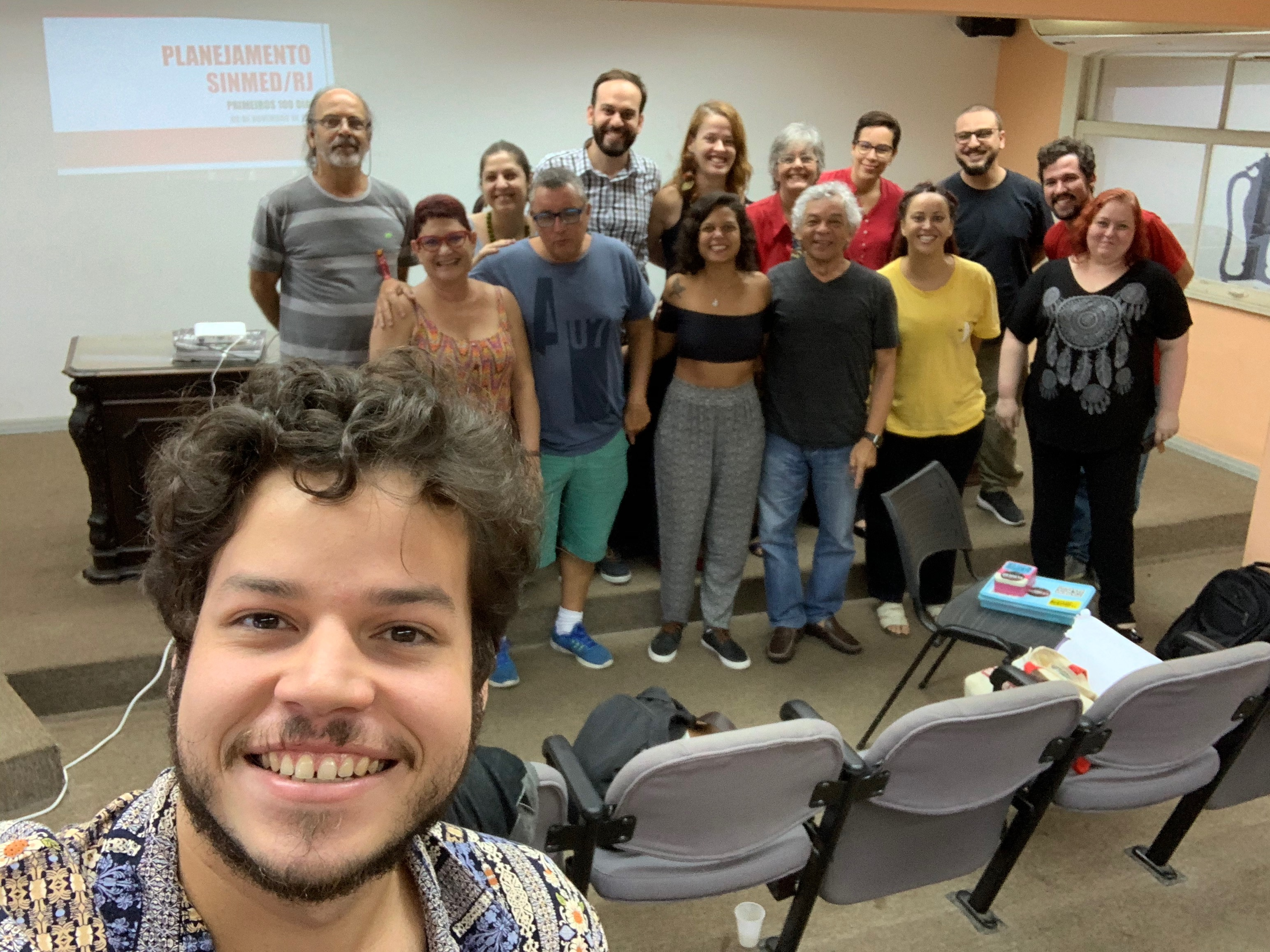 Seminário de Gestão da Nova Diretoria do SinMed